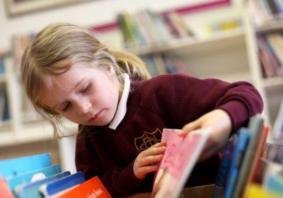 Prep School library lesson for Pre-School and Reception Class