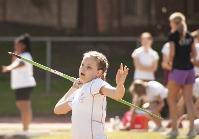Javelin at Portsmouth High School Sports Day