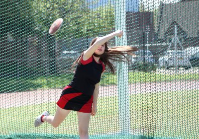 Discus at Portsmouth High School Sports day