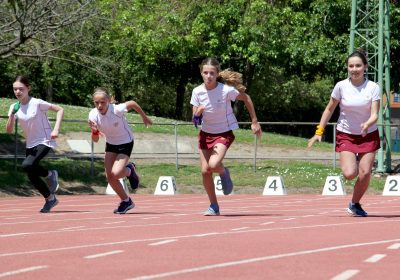 Track event at Portsmouth High School Sports Day