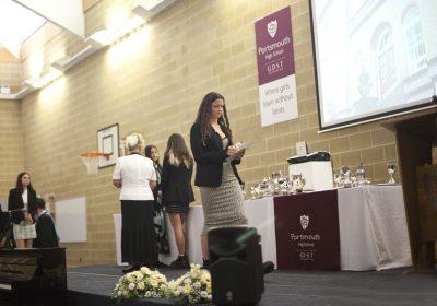 Portsmouth High School awards evening